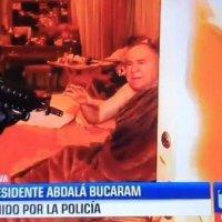 Arrestan a Abdalá Bucaram en un show mediático otorgado solo a Teleamazonas por el Gob. De Moreno