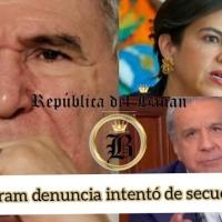 Bucaram afirma que el Gobierno y Romo, ordenaron el secuestro de su abogado