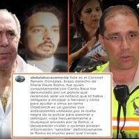 Bucaram identifica al TCrnl. de Policía, Renato Gonzalez, como la persona que le apuntó con un arma