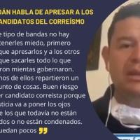 #Lawfare| Roldán confiesa que el gobierno de Moreno persigue políticamente
