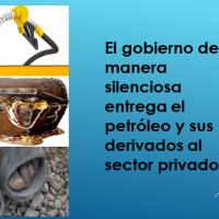 Frente de Defensa Petrolero, alerta al país por Decreto de liberalización de importaciones de combustibles, que incrementará pobreza