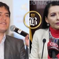 El CNE es expuesto internacionalmente por Andrés Arauz