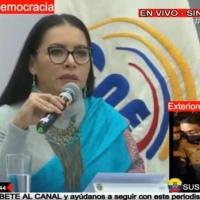 Ante la exigencia de UNES a que se respete la ley, CNE acepta binomio Correista