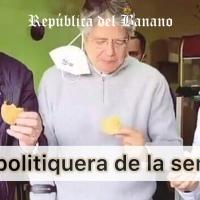 ¿Lasso comería empanadas si no estuviera en Campaña? Opine