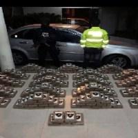 300 kilos de droga decomisados y cinco personas detenidas deja operativo en Canoa