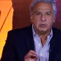 9 de cada 10 ecuatorianos no cree en el Presidente Lenín Moreno
