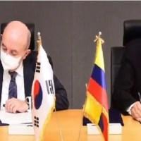 Corea del Sur entregará recursos no reembolsables a Ecuador