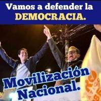 En democracia, se presentan candidatos y el pueblo decide, en dictadura se imponen candidatos
