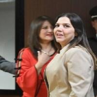 María Alejandra Vicuña cambia de abogado y Tribunal difiere audiencia de apelación sobre su condena