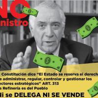 La Corte Constitucional, admitió a trámite la Acción de Inconstitucionalidad al Decreto 1094, que pretende privatizar Refinería Esmeraldas