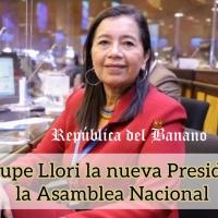 Guadalupe Llori consigue la presidencia de la Asamblea Nacional «incluida ratificación»