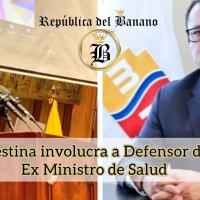 El Defensor del Pueblo, Freddy Carrión y el exministro de Salud, Mauro Falconí, están detenidos