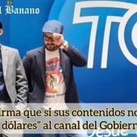 Vivanco quien apoyó a Lasso en campaña trabajará en TC Television «canal del Gobierno»