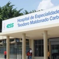 Ratifican prisión preventiva para dos exfuncionarios del Hospital Teodoro Maldonado procesados por presunto peculado
