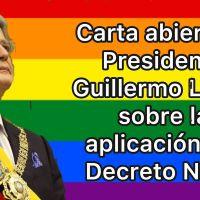 Carta abierta a Guillermo Lasso sobre la aplicación del Decreto N°93 y la inactividad de la Subsecretaría de las Diversidades