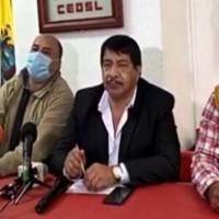 Frente Unitario de Trabajadores retomará acciones luego del feriado; analizan posible huelga nacional