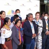 Pachakutik alerta de 17 detenidos durante el paro de este martes
